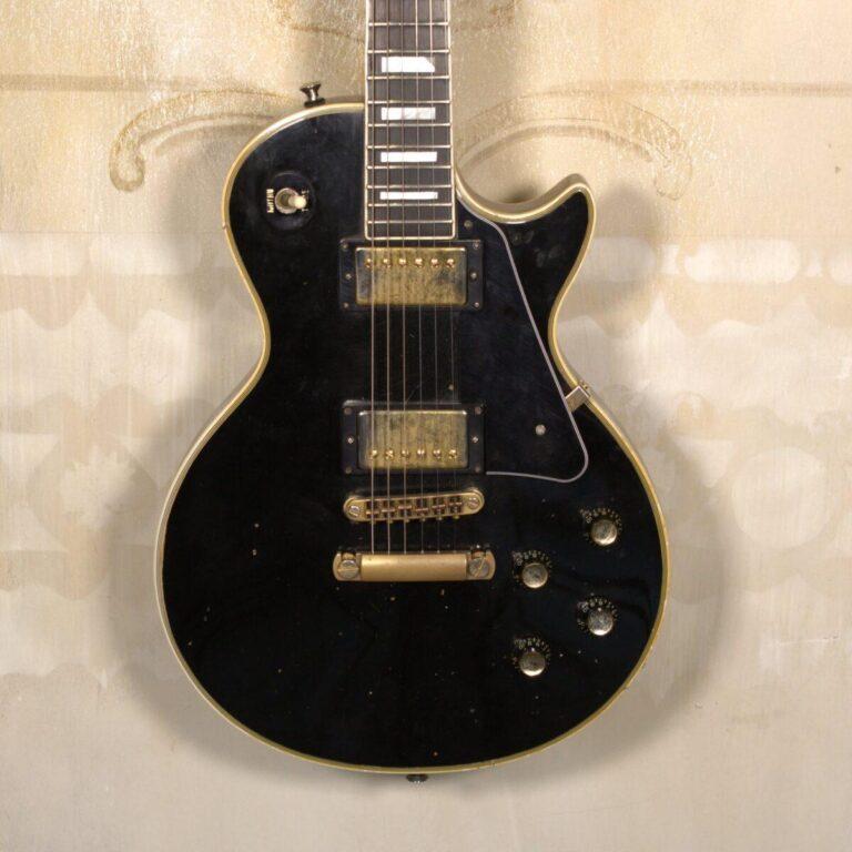 Gibson Les Paul Custom 1977 Ebony