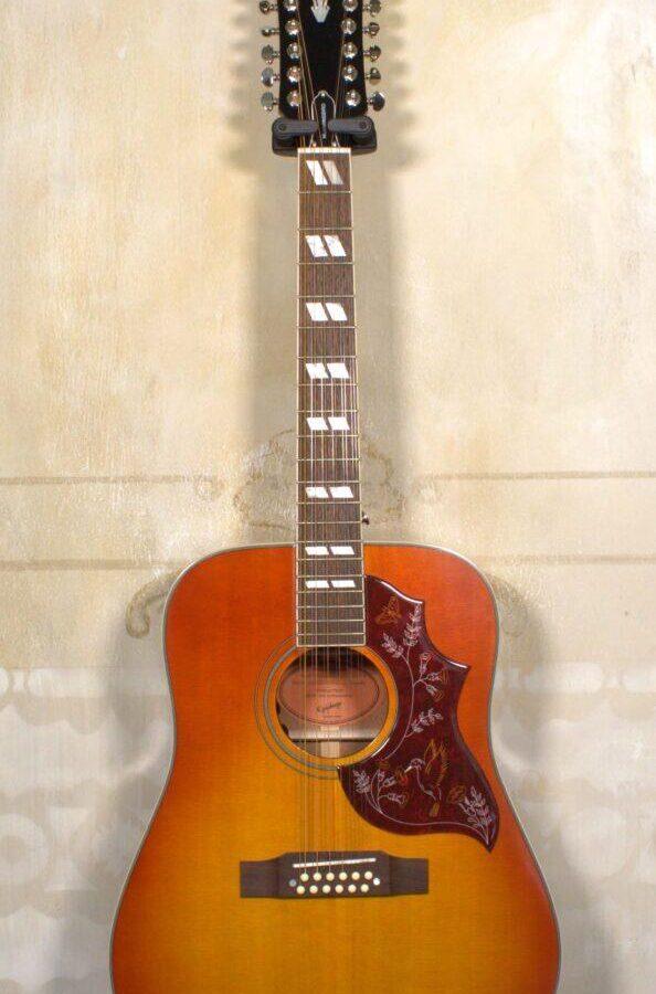 Epiphone Hummingbird 12-String Heritage Cherry
