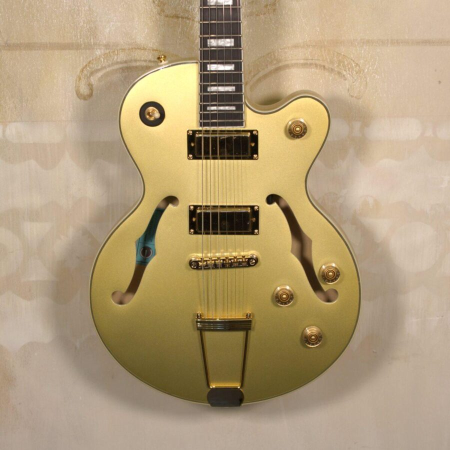 Epiphone Uptown Kat ES Metallic Gold