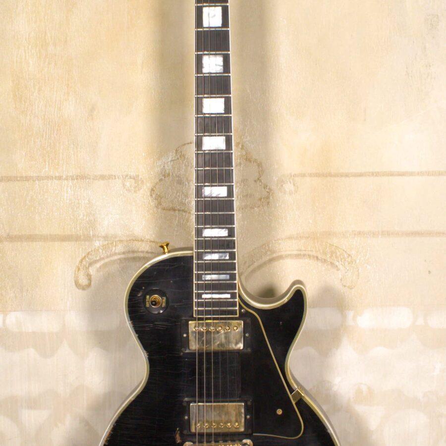 Gibson Les Paul Custom 2018 Ebony Aged S/H