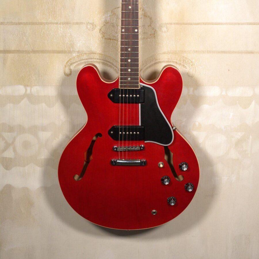 Gibson ES-335 P90 Cherry S/H