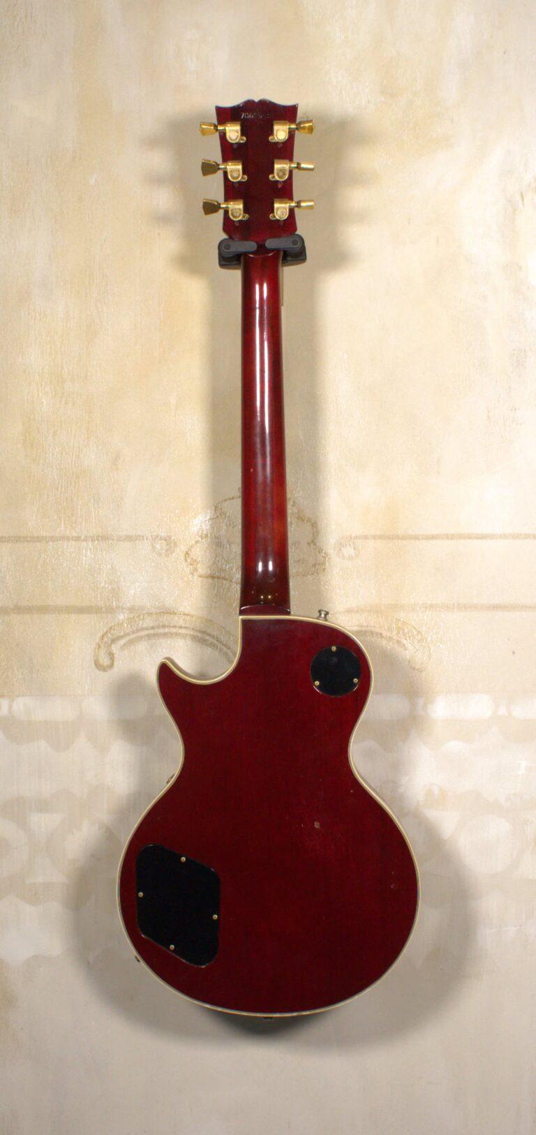 Gibson Les Paul Custom 1979 Wine Red